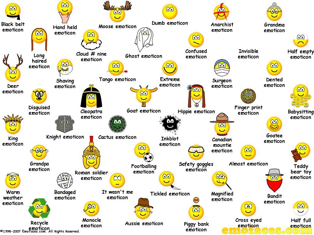 Emoticons For Sametime