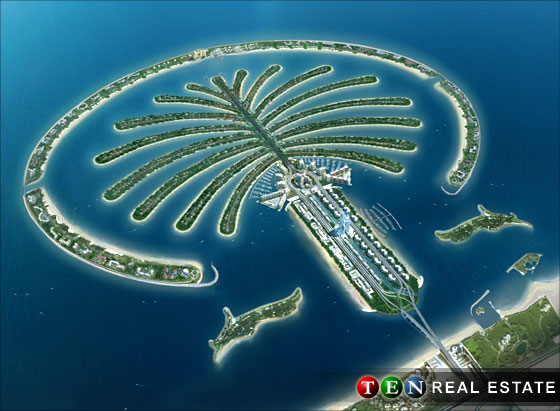 Palm Deira is the latest of Dubai's trilogy of man-made islands.