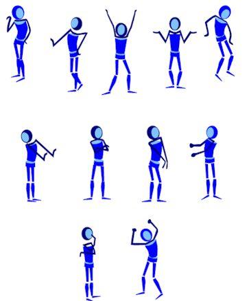 how to change bad body language